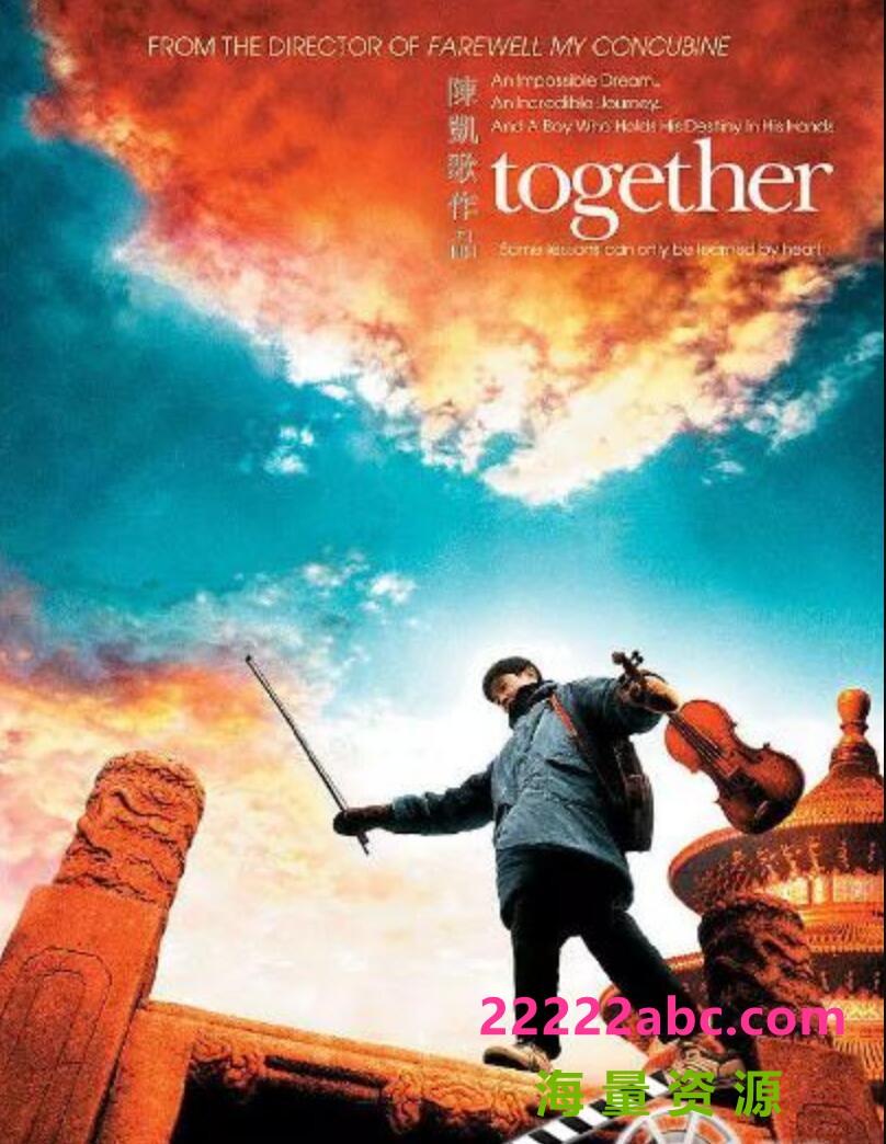 2002陈凯歌高分剧情《和你在一起》DVDRip.国语中字1080p|4k高清