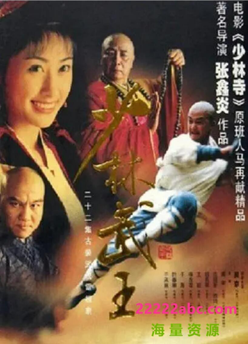 [电视剧][少林武王][贵州卫视][][2003年高清原盘MKV/DVD共13G][普通话中字幕]1080p|4k高清