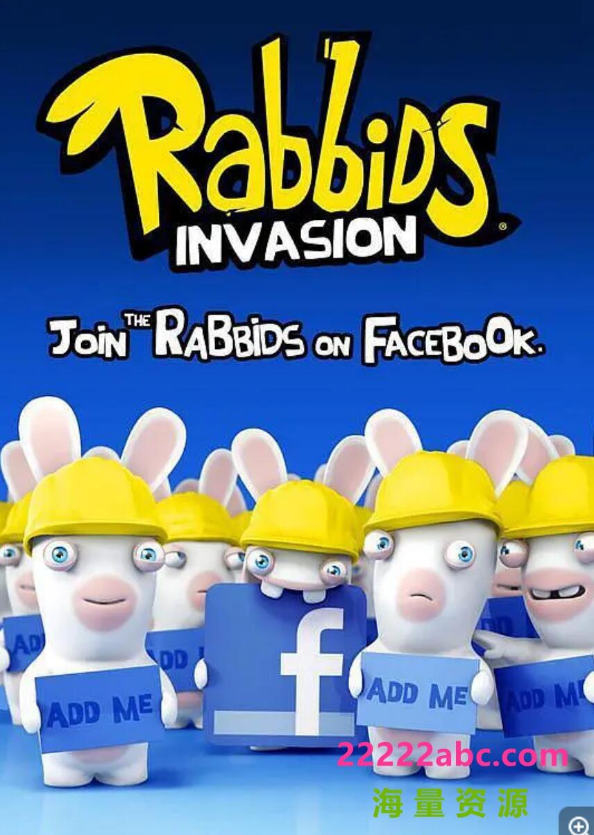 [电视剧]超清1080P《疯狂的兔子1-4季》动画片 全310集 英语中字1080p 4k高清