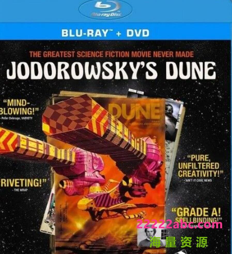 2013高分科幻纪录片《佐杜洛夫斯基的沙丘》BD1080P.中英双字1080p 4k高清